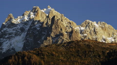 French Alps Chamonix, France 5K HD Stock Footage Stock Footage