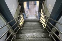 Stairs leading to subway station in new york city Kuvituskuvat