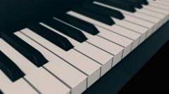 concept of music - stock footage