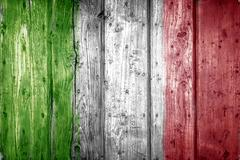 Grange textured flag of Italy - stock photo