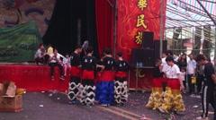 Shenzhen, China: PAK Tai Temple celebration Stock Footage