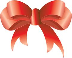 Stock Illustration of Red bow