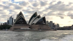 SYDNEY – NOVEMBER 2015: The Iconic Sydney Opera House is a multi-venue Stock Footage