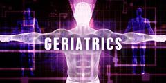 Geriatrics Stock Illustration