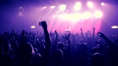 Massive party - stock footage