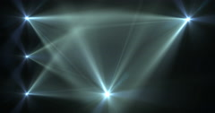 Stage Light Optical Flares Event Club Visual Stock Footage
