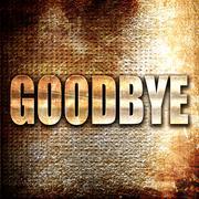 Stock Illustration of goodbye