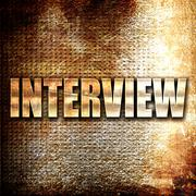 Interview Stock Illustration