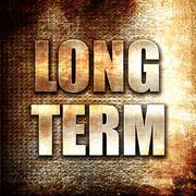 long term - stock illustration