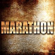 marathon - stock illustration