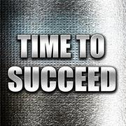 Time to succeed Stock Illustration