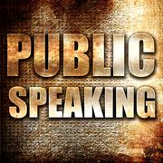 Public speaking Stock Illustration