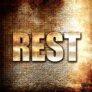 rest - stock illustration