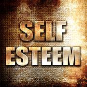 self esteem - stock illustration