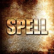 spell - stock illustration