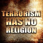 Terrorism has no religion Stock Illustration