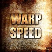 warp speed - stock illustration