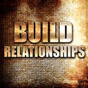 Build relationships Stock Illustration