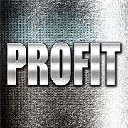 profit - stock illustration