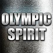 olympic spirit - stock illustration