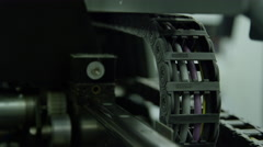 Stock Video Footage of Manufacturing Visuals - Assembly line plant
