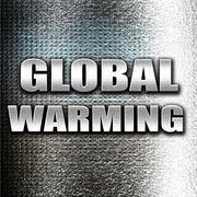 global warming - stock illustration