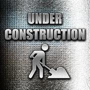 Under construction sign - stock illustration