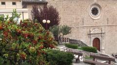 Anversa degli Abruzzi small town of Abruzzo Stock Footage
