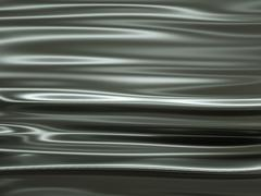 metallic texture material waves and ripples - stock illustration