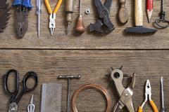 Tools background - stock photo