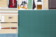Stationery supplies Stock Photos