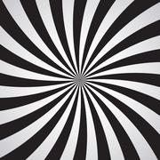 Swirling radial pattern background. Vector illustration Stock Illustration