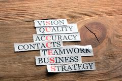 Success business definition - stock photo