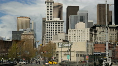 Seattle Time Lapse Stock Footage
