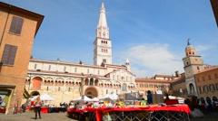 Modena, Italy Stock Footage