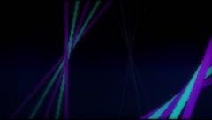 VJ Loop Neon bars on fast Beat 128 bpm Stock Footage