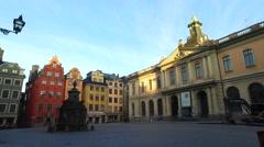 Nobel Prize Museum, Stockholm, Sweden - stock footage