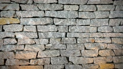Rock background wall Stock Footage