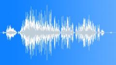 Cartoon lizard kill Sound Effect