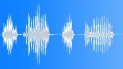 Cartoon giraffe voice Sound Effect