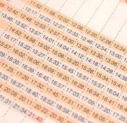 Timetable Kuvituskuvat