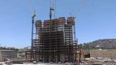 Building under construction at Port of Rio de Janeiro, Brazil Stock Footage