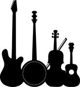 Instruments Black Piirros