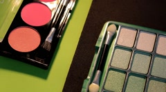 Cosmetics - Makeup - Closeup 06 Stock Footage