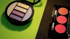 Cosmetics - Makeup - Closeup 08 - stock footage
