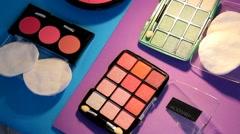 Cosmetics - Makeup - Item 07 - stock footage