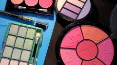 Cosmetics - Makeup - Product 04 - stock footage
