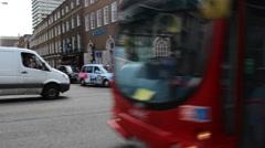 London Bus Stock Footage