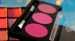 Palette - Cosmetics - Makeup 02 - stock footage