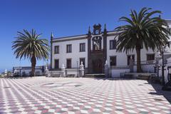 Townhall at Plazza Virrey de Manila Square, Valverde, UNESCO biosphere reserve, Kuvituskuvat